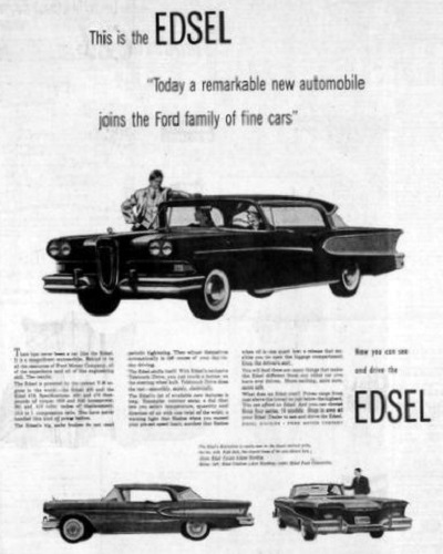 Ford Edsel Advertisement (1957)