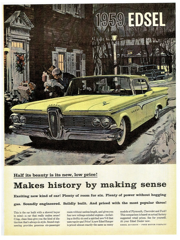 Ford Edsel Advertisement (1959)