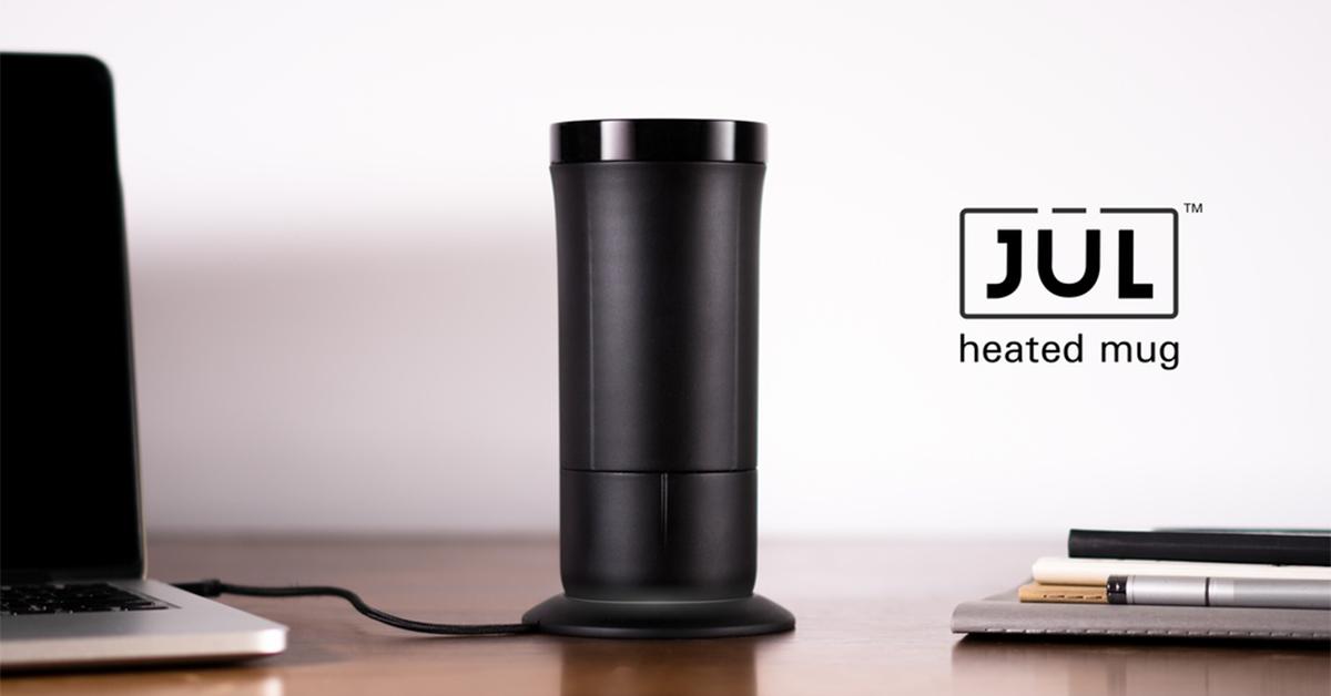 The J 252 L Heated Smart Mug For Coffee Amp Tea