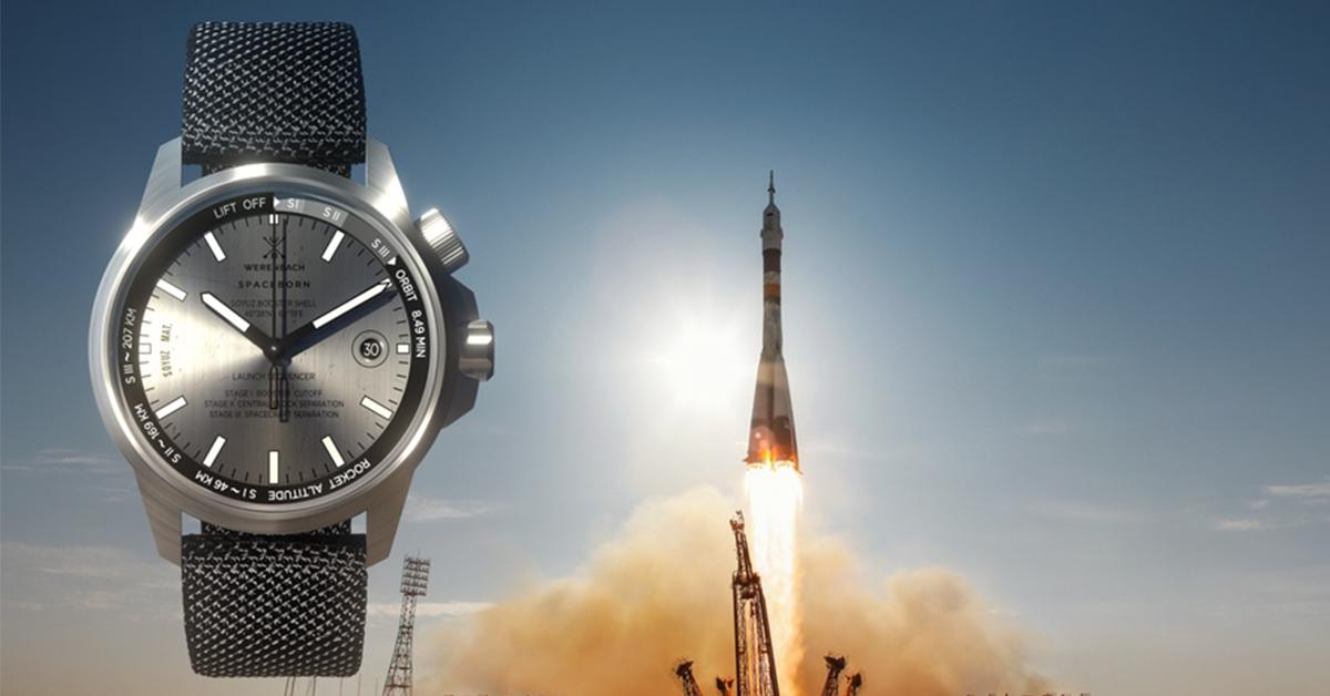 Werenbach: Watches built from spaceborne rockets